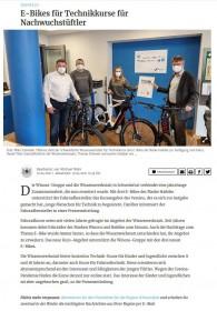 Winora Group sponsert 3 E-Bikes