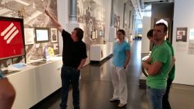 Besuch mit den Ehrenamtlichen Mitarbeitern im Sachs Museum in Schweinfurt