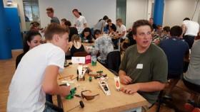 Orientierung-Camp in Zusammenarbeit mit der FHWS und des Alexander-von-Humboldt Gymnasium Schweinfurt
