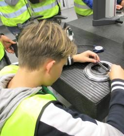 Besuch der Wandlerproduktion bei der ZF Friedrichshafen AG