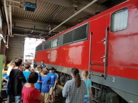 Besichtigung der DB in Würzburg